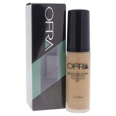 Ofra - Absolute Cover Silk Peptide Foundation - # 7 1oz