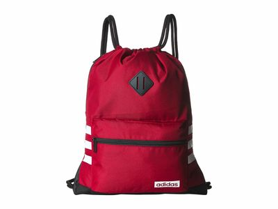 Adidas - Adidas Active Maroon/Black/White Classic 3S Backpack