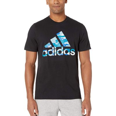 Adidas - Adidas Black Badge Of Sport Camo Tee