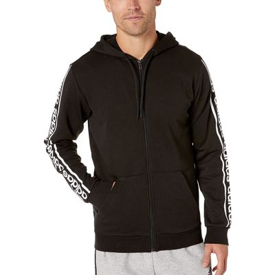 Adidas - Adidas Black/White Celebrate Full Zip Hoodie