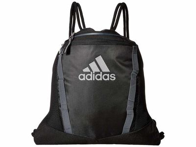 Adidas - Adidas Black/Onix/Reflective Silver Rumble İi Backpack