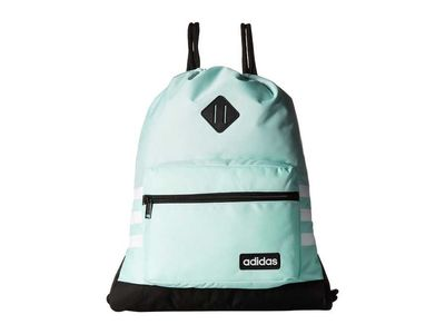 Adidas - Adidas Clear Mint Green/Black/White Classic 3S Backpack