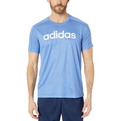 Adidas - Adidas Collegiate Royal/White Designed To Move Big Logo Tee