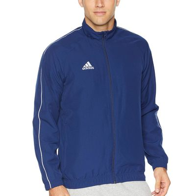 Adidas - Adidas Dark Blue/White Core 18 Pregame Jacket