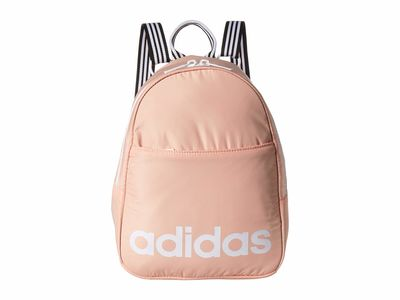 Adidas - Adidas Glow Pink/White Core Mini Backpack