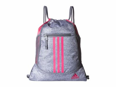 Adidas - Adidas Grey Jersey/Grey/Real Pink Alliance İi Backpack
