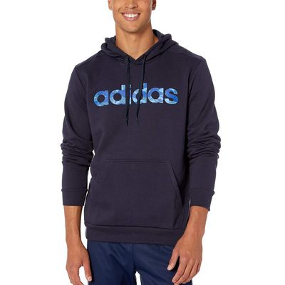 Adidas - Adidas Legend Ink/Collegiate Royal Essentials Camo Linear Hoodie