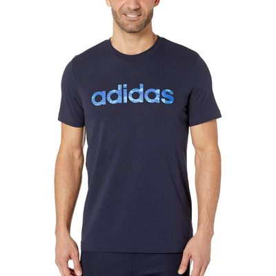 Adidas - Adidas Legend Ink/Collegiate Royal/Blue/Real Blue Essentials Camo Linear Tee