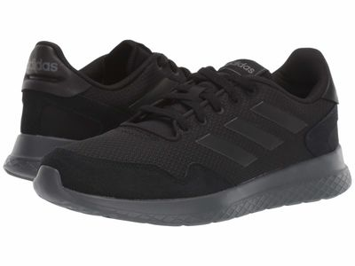 Adidas - Adidas Men Black/Black/Grey Five Archivo Lifestyle Sneakers