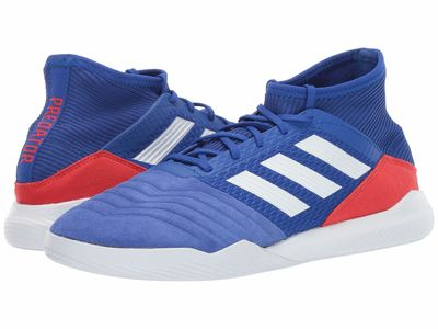 Adidas - Adidas Men Bold Blue/Footwear White/Active Red Predator 19.3 Tr Cleats