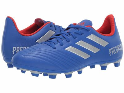 Adidas - Adidas Men Bold Blue/Silver Metallic/Active Red Predator 19.4 Fxg Cleats