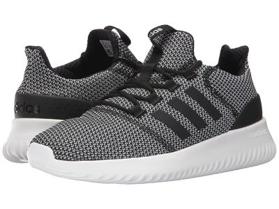 Adidas - Adidas Men Core Black/Core Black/Footwear White Cloudfoam Ultimate Lifestyle Sneakers
