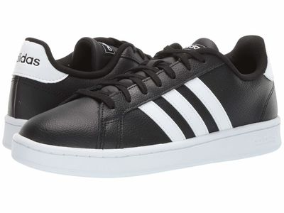 Adidas - Adidas Men Core Black/Footwear White/Footwear White 1 Grand Court Lifestyle Sneakers