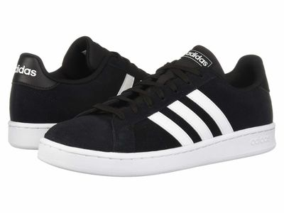 Adidas - Adidas Men Core Black/Footwear White/Footwear White Grand Court Lifestyle Sneakers