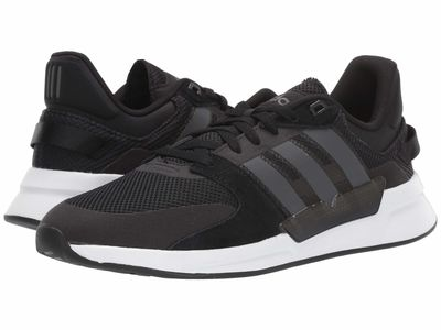Adidas - Adidas Men Core Black/Grey Six/White Run 90S Lifestyle Sneakers