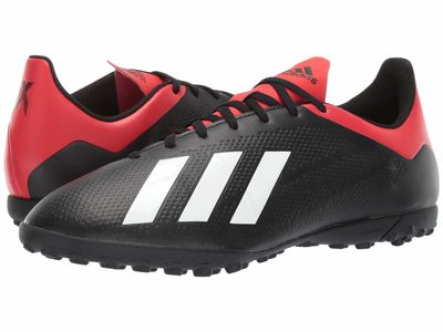 Adidas - Adidas Men Core Black/Off-White/Active Red X 18.4 Tf Cleats