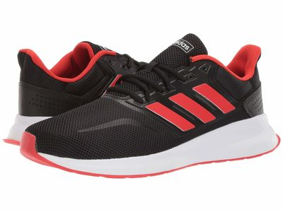 Adidas Men Core Black/Active Red/Core Black Falcon Running Shoes