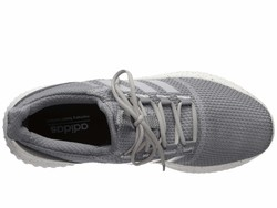 Adidas Men Grey Three F17/Grey Two F17/Grey Five Cloudfoam Ultimate Lifestyle Sneakers - Thumbnail