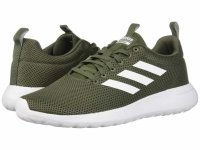 Adidas - adidas Men's Base Green White Black Lite Racer CLN Lifestyle Sneakers