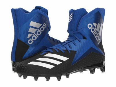 Adidas - adidas Men's Core Black Footwear White Collegiate Royal Freak x Carbon High Cleats