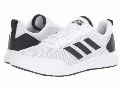 Adidas - adidas Men's White/Black/Grey Two Cloudfoam Element Race Lifestyle Sneakers