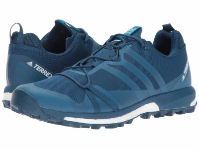 Adidas - adidas Outdoor Men's Blue Night/Mystery Petrol/White Terrex Agravic Running Shoes