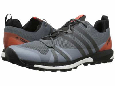 Adidas - adidas Outdoor Men's Vista Grey/Black/Energy Terrex Agravic Running Shoes