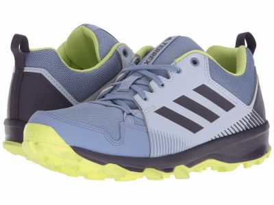 Adidas - adidas Outdoor Women's Aero Blue/Trace Purple/Semi Frozen Yellow Terrex Tracerocker Hiking Climbing Shoes