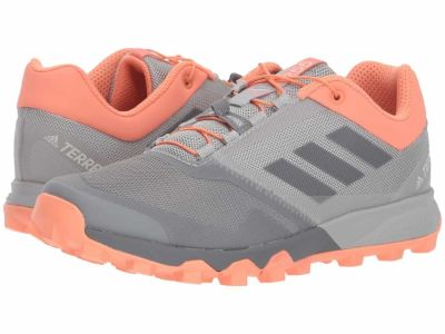 Adidas - adidas Outdoor Women's Grey Three Grey Three Chalk Coral Terrex Trailmaker Running Shoes