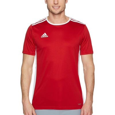 Adidas - Adidas Power Red/White Entrada 18 Jersey