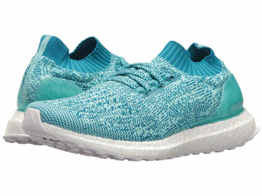 promo code 0bb52 c32d1 adidas Running Women's Aqua White UltraBOOST Uncaged Running Shoes