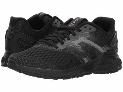 Adidas - adidas Running Women's Core Black Core Black Grey Four Aerobounce Running Shoes