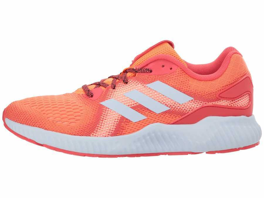 adidas Running Women's Hi-Res Orange Real Coral Aero Blue Aerobounce Running Shoes