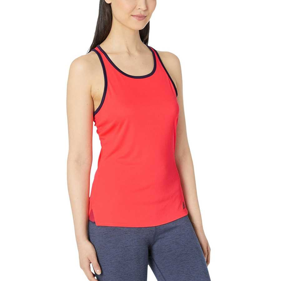 Adidas Shock Red Club Tank Top