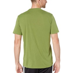 Adidas Tech Olive Designed-2-Move Linear Logo Short Sleeve Tee - Thumbnail
