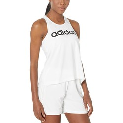 Adidas White 2 Designed-2-Move Logo Tank Top - Thumbnail