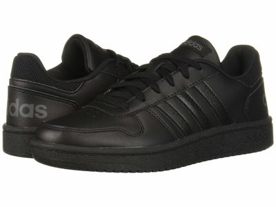 Adidas - Adidas Women Core Black/Core Black/Grey Six Hoops 2.0 Lifestyle Sneakers