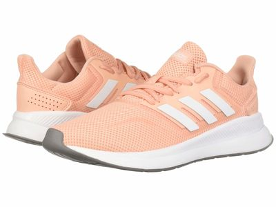 Adidas - Adidas Women Glow Pink/Footwear White Falcon Running Shoes