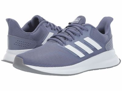 Adidas - Adidas Women Raw İndigo/Footwear White/Grey Three F17 Falcon Running Shoes