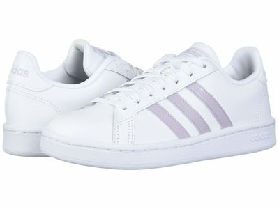 Adidas - Adidas Women White/Mauve/Grey Two Grand Court Lifestyle Sneakers
