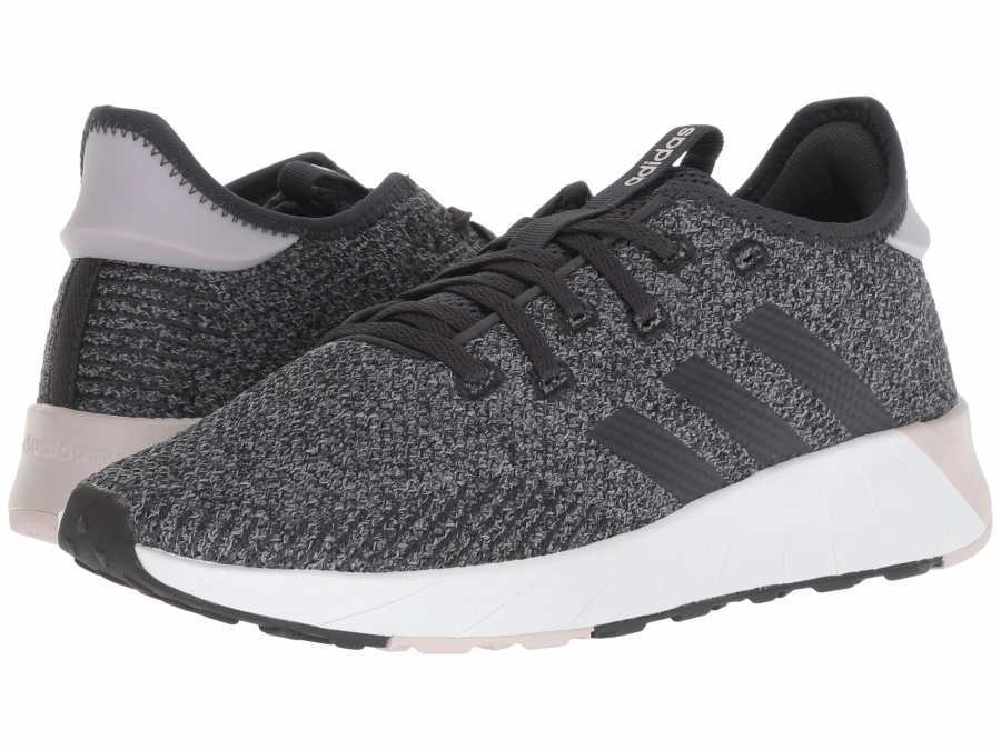 adidas Women's Black Carbon Grey Questar X BYD Lifestyle Sneakers