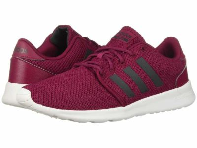 Adidas - adidas Women's Mystery Ruby Carbon Knit Metallic Cloudfoam QT Racer Lifestyle Sneakers