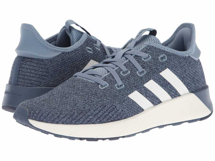 adidas Women's Raw Grey Cloud White Tech Ink Questar X BYD Lifestyle Sneakers