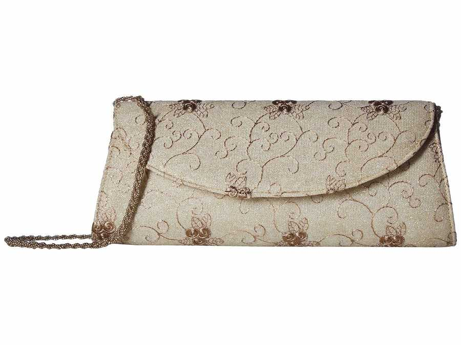 Adrianna Papell Earth Kamille Clutch Bag