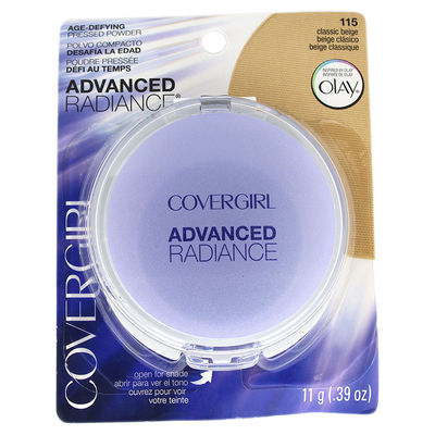 CoverGirl - Advanced Radiance Age-Defying Pressed Powder - # 115 Classic Beige 0,39oz