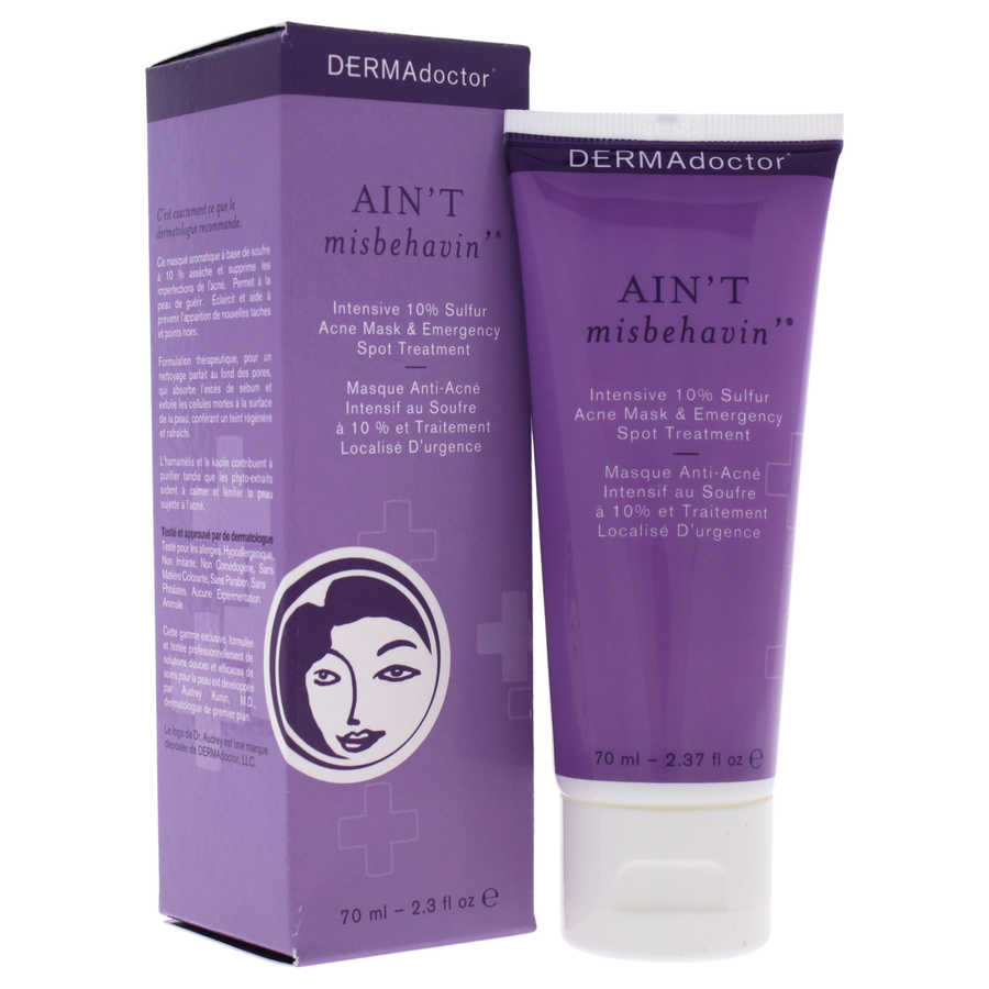 Aint Misbehavin Intensive 10% Sulfur Acne Mask 2,3oz