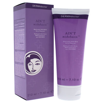 DERMAdoctor - Aint Misbehavin Medicated AHA/BHA Acne Cleanser 7,1oz