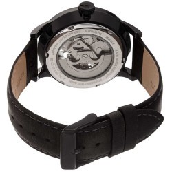 Akribos XXIV Men Leather Watches AK1018BK AK1018BK - Thumbnail
