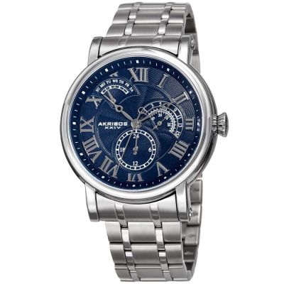 Akribos XXIV - Akribos XXIV Men Stainless Steel Watches AK1001SSBU