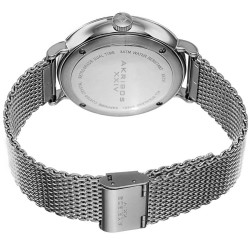 Akribos XXIV Men's Quartz GMT Date Stainless Steel Strap Watch AK731SSB - Thumbnail